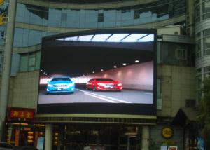 Lo schermo P10 di colore completo del LED esterno impermeabilizza la visualizzazione LED