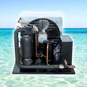 공기에 의하여 냉각되는 냉각 집광 단위 압축기 (HQXD)