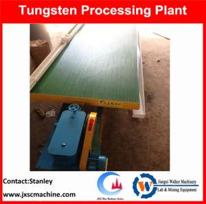 Tabla de agitador de la planta de recuperación de tungsteno