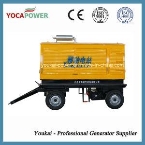 Generazione diesel mobile del rimorchio a basso rumore 250kw