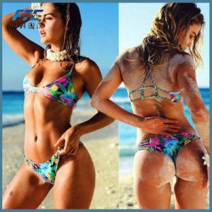 Meninas quentes piscina Swimsuit OEM shorts moda praia