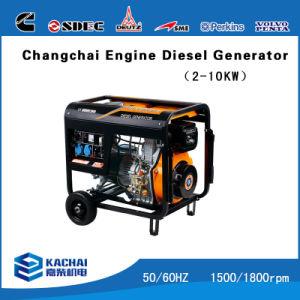 50Гц 3Квт с водяным охлаждением воздуха бесшумный дизельный генератор