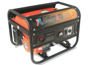 2.5kw Highquality Gasoline Generator con CA Single Phase e Cover
