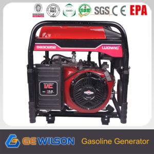 6.5Kw generador de gasolina de 230 V con motor de B&S