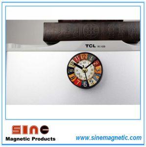 Orologio magnetico del retro frigorifero falso europeo di reminiscenza