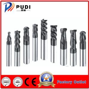 Moinho de ponta de carboneto de sólidos de tungsténio para Metal/Corte de ligas de alumínio