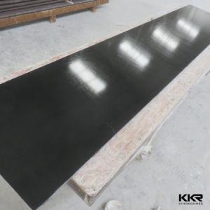 Couleur Noir Résine acrylique polymère solide panneau de surface