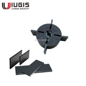 Wn ailettes de la pompe à vide 124-196 Becker 90136701005 des ailettes de carbone
