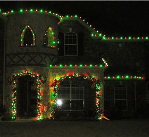 LED-helle Weihnachtszeichenkette-feenhafte Beleuchtung-Dekoration-Lichter