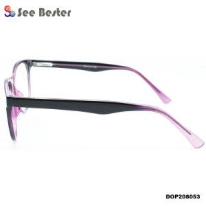 새로운 디자이너 CP 명확한 렌즈 유리 둥근 프레임 Eyewear를 가진 광학적인 안경알 프레임