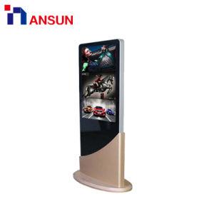 42-дюймовый напольная подставка с высокой яркостью Digital Signage ЖК-дисплей рекламы