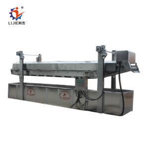 Garri automático de la industria de la máquina de fritura crujiente máquina freír frijoles