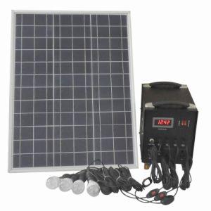 Sistema de Iluminación Casero Solar 50W