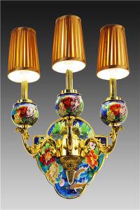 Pesci Pursuit per Richness  Cloisonne Wall Lamp