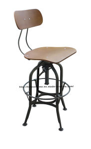 家具のバースツールのトレドの椅子を食事する産業鋼鉄レストラン