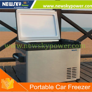 L'énergie solaire congélateur refroidisseurs des compresseurs Voiture électrique 70L