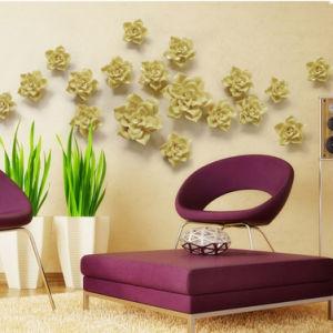 Настенные украшения зал украшений ручной работы керамические цветы для дома украшения