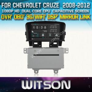 Witson Car DVD плеер с GPS для автомобилей Chevrolet Cruze