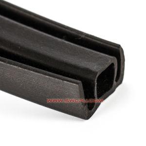 Parte de extrusão de faixa de isolamento de espuma de borracha da janela / Armazenamento a fita de vedação