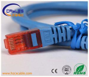 Rojo/gris/azul/amarillo/CAT6 CAT5e Cable