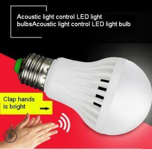 Acoustic Control de iluminación LED Bombillas utilizadas en el corredor o pasillo o corredor de garaje/