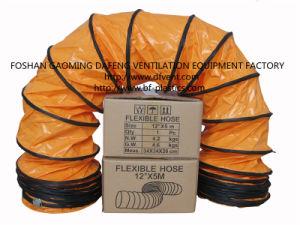12 '' X 5m pvc Spiral Flexible Air Hose in Orange
