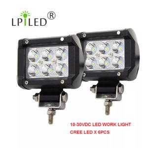 12V Farol 24V LED farol de luz de trabalho