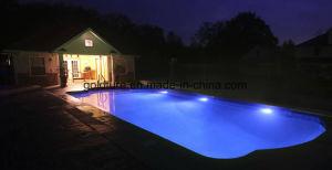 Indicatore luminoso subacqueo LED RGB del raggruppamento di illuminazione 12V del supporto della parete con il periferico