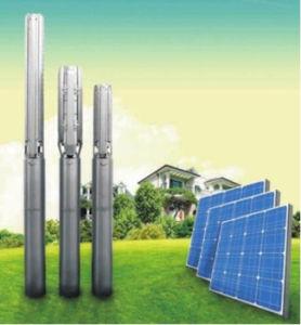 Angeschaltene Solarwasser-Solarpumpe des Wasser-Pumpen-Systems-4inch