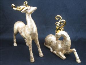 Sculpture en résine personnalisée pour la décoration de table de