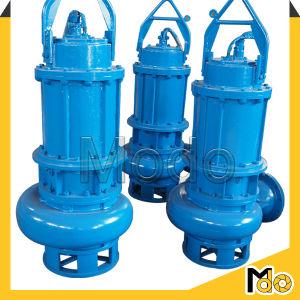 Una etapa de la bomba sumergible de aguas residuales