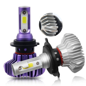 16000lm Fanless H4の置換のヘッドライト車ライトH11 H7自動車LEDのヘッドライトの球根