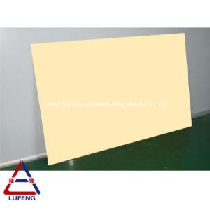 3mm 4mm Revêtement de couleur panneau solide feuille en aluminium pour revêtement mural