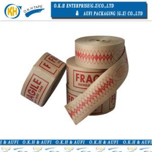 La qualité de l'eau humide renforcée imprimé Kraft bande de gomme