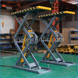3.5 toneladas de buena calidad de Alquiler de Auto elevadores de tijera ascensores Hydrauli/COCHE/elevador de tijera para alineación