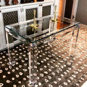 Interiordesign acrílico#Sala Tabela#Plexiglass Turismo#Mobiliário transparente#mesa de café#Leitura de turismo