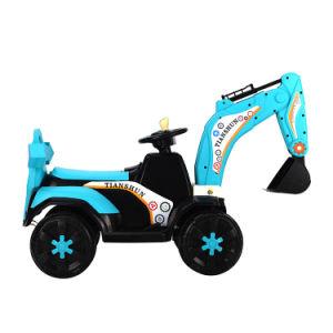 As crianças a viagem de carro com motor eléctrico alimentado por bateria carro