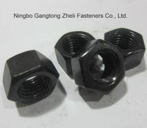 Noix Hex lourdes de l'acier du carbone GB6170