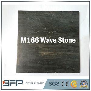 Bouwmateriaal - de Ongelijke Tegels van Bluestone van de Steen van de Golf van de Oppervlakte Zwarte Marmeren