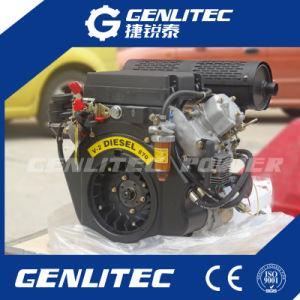 공기에 의하여 냉각되는 V 쌍둥이 실린더 디젤 엔진 20HP (DE2V870)