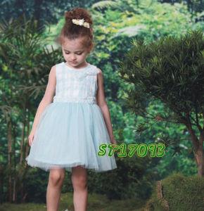 Trendy Multi-Voile turquoise robe de tulle pour partie d'été