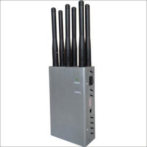 6 antenas móviles de mano potente GSM, 3G, 4G WiFi Jammer señal
