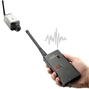 Detector de señal RF inalámbrico para Bug/cámara