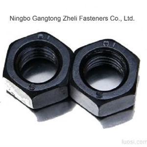 Noix DIN934 Hex lourdes de haute résistance de la pente 10