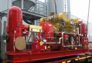 Type de Turbine vertical de la pompe diesel (VTP)