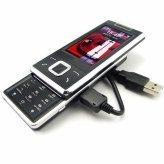 De Telefoon van de Cel van de schuif - Slanke Touchscreen Media Mobiele Telefoon