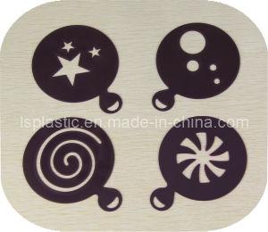 4 pcs capuchino de Plástico / Galerías Galerías de café (LS-7002)