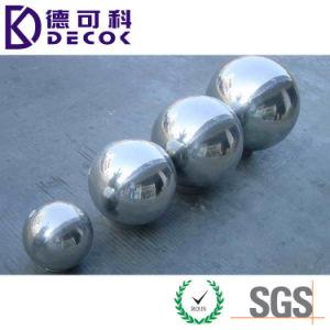 Commerce de gros 24 30 40 pouces grand jardin creux décoratifs boule miroir en acier inoxydable