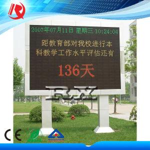 Наружная реклама в формате HD на экране дисплея полноцветный светодиодный дисплей панели управления P10