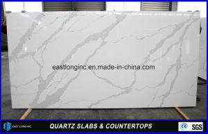 White Calacatta Pierre artificielle des comptoirs de quartz de Home ...